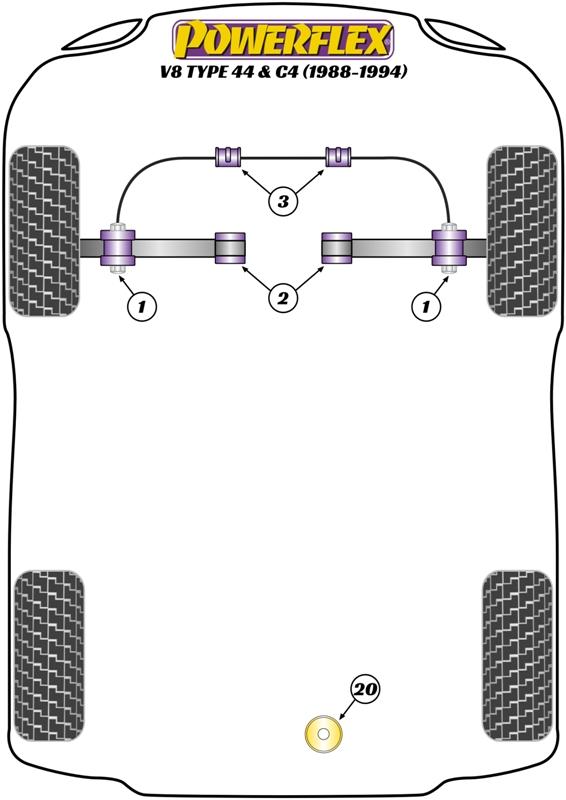 V8 - 44 C4 - 1988-1994