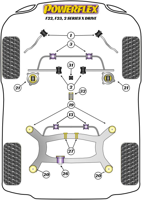 2 Series - F22, F23 - xDrive - 2013-