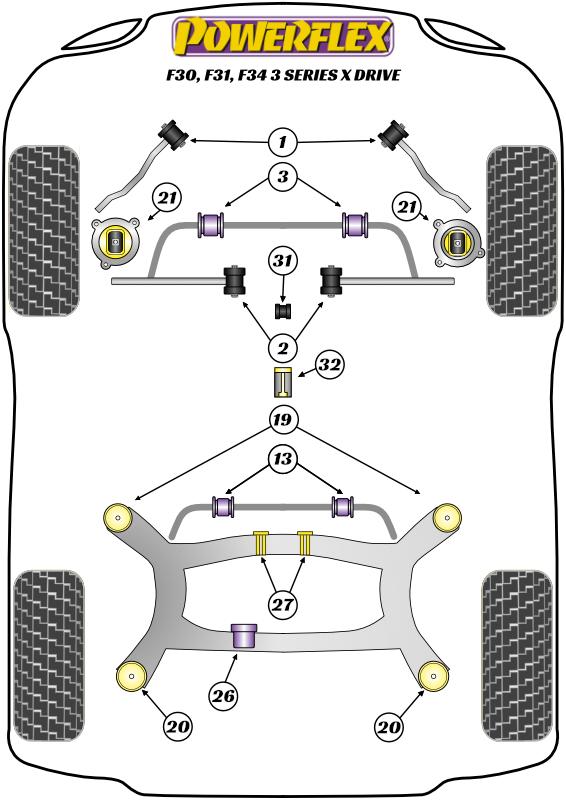3 Series - F30, F31, F34, F80 - xDrive - 2011-