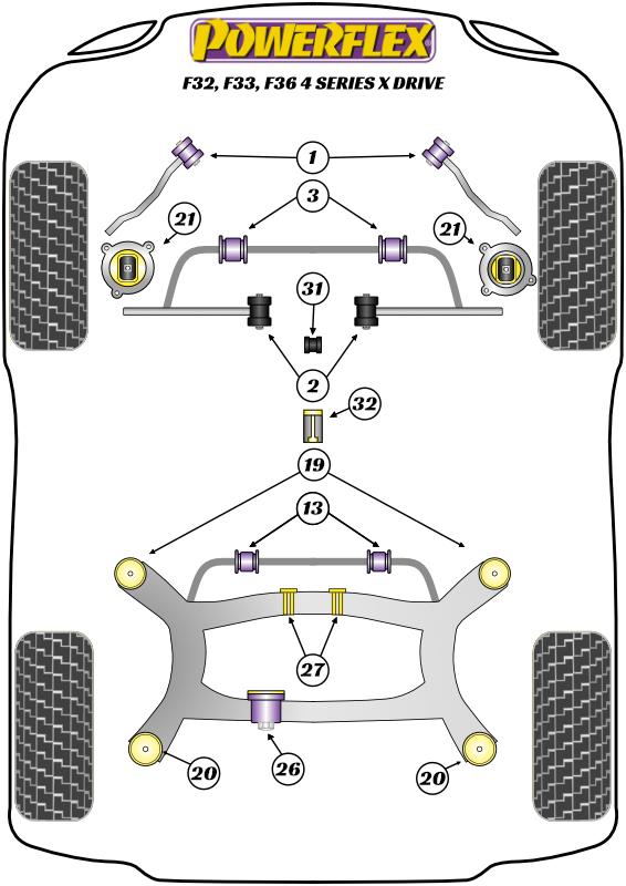 4 Series - F32, F33, F36 - xDrive - 2013-