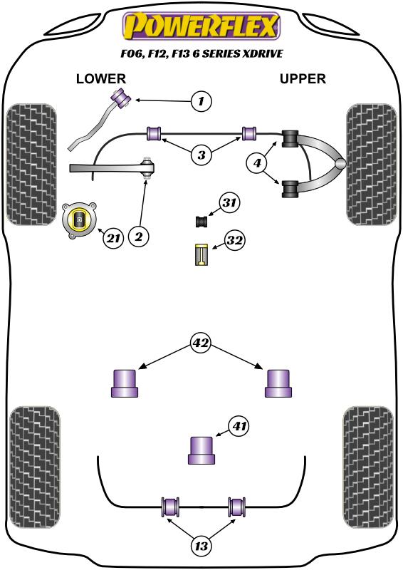 6 Series - F06, F12, F13 - xDrive - 2011-